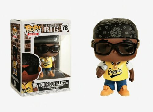 Funko Pop Rocks: The Notorious B.I.G. - Notorious B.I.G with Jersey Vinyl Figure