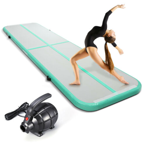 3M//4M Airtrack Gymnastikmatte Tumbling Yoga Aufblasbar Turnmatte Trainingsmatte
