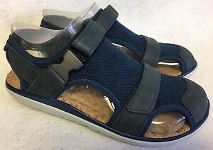 32d899bfba32bc Teva Men s Terra-Float Fisher Sandal 9 Navy Blue Sandals Mesh Shoes ...