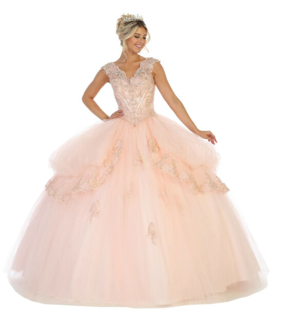 SALE ! CORSET MILITARY BALL GOWNS SWEET 16 QUINCEANERA MARDI GRAS DRESSES &  PLUS