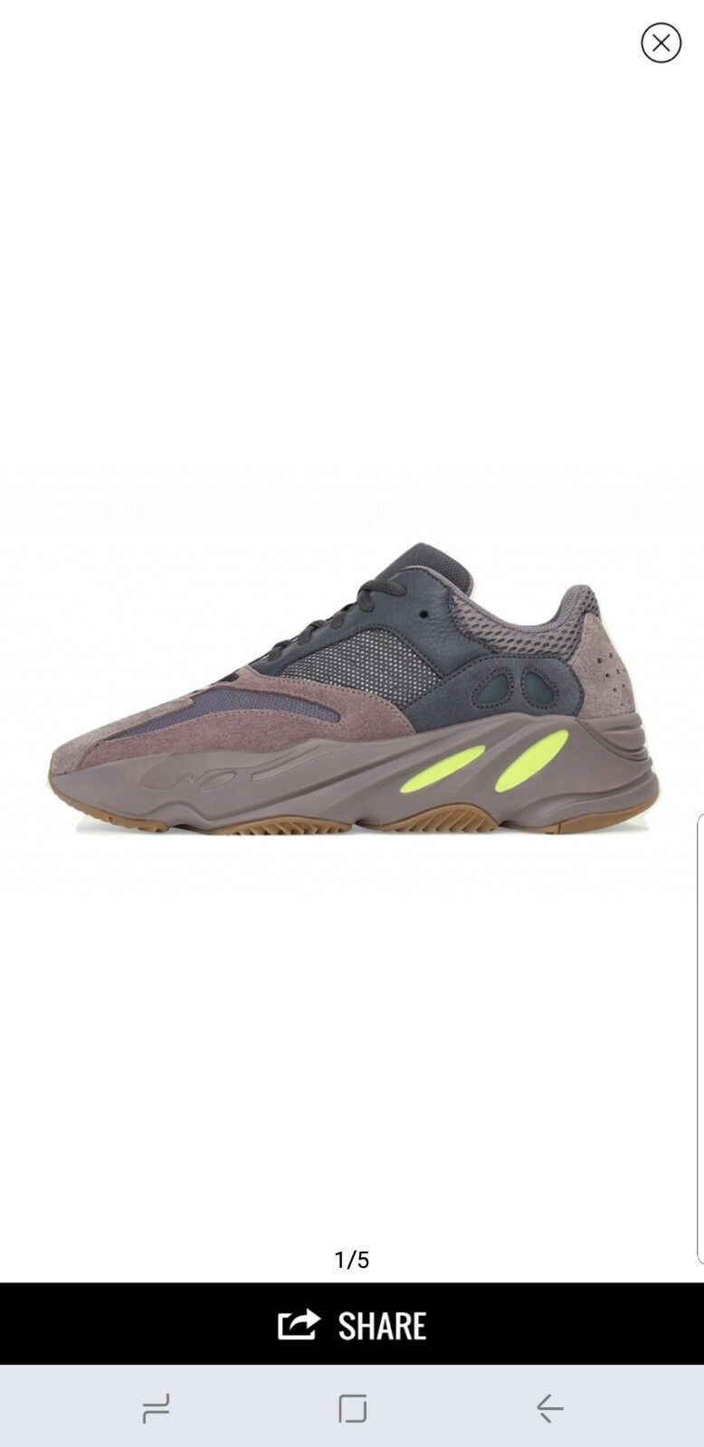 4928aed0f Adidas Yeezy 700 Boost Mauve (Pre-order All Sizes) Sizes) Sizes) 100 ...