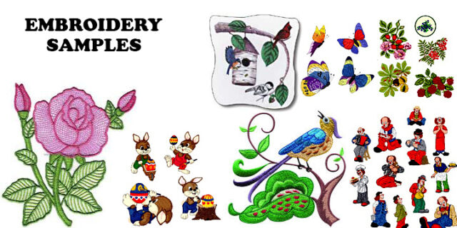 60 000 Embroidery Machine Patterns Designs Collection Ebay