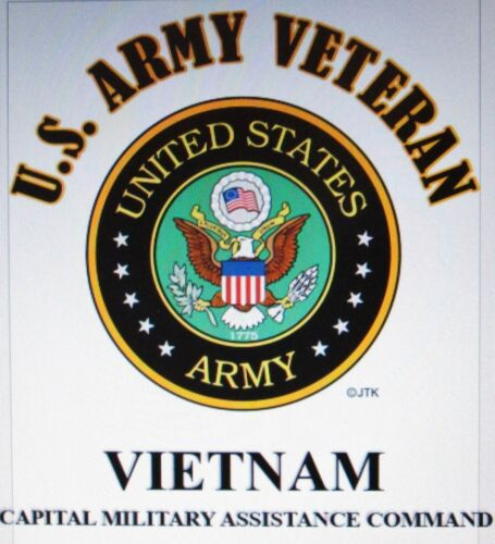 1ST SIGNAL BRIGADE*U.S.ARMY VETERAN W//ARMY EMBLEM*SHIRT VIETNAM