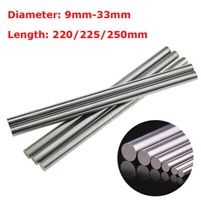 9-33mm HSS Steel Round Rod Shaft Axis Metal Bar Metalworking 220//225//250mm Long