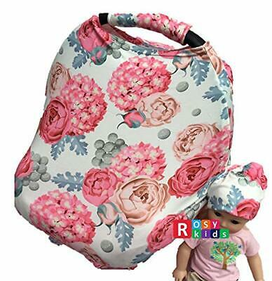Clearance Sale 3pc Stretchy Car Seat Cover boys girl infant CarSeat Canopy 06J21