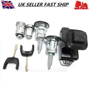 4874508 Full Lcok Set Ignition Bonnet 2 Horseshoe Door Keys For Ford TRANSIT