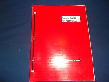 Dynapac Cc 501 Cc 501c Combi Asphalt Roller Parts Book Manual