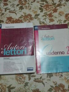 Autori E Lettori 2 2tomi Zordan R 9788891506528 Con Letteratura Blu Nuova Ebay
