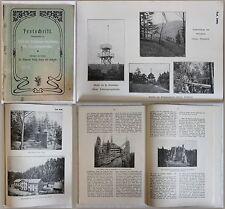 Festschrift 25jähriges Bestehen des Erzgebirgsvereins 1903 Geschichte Sachsen xz
