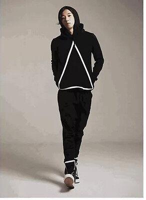 Korean version of the new men's fashion casual harem pants trousers cross