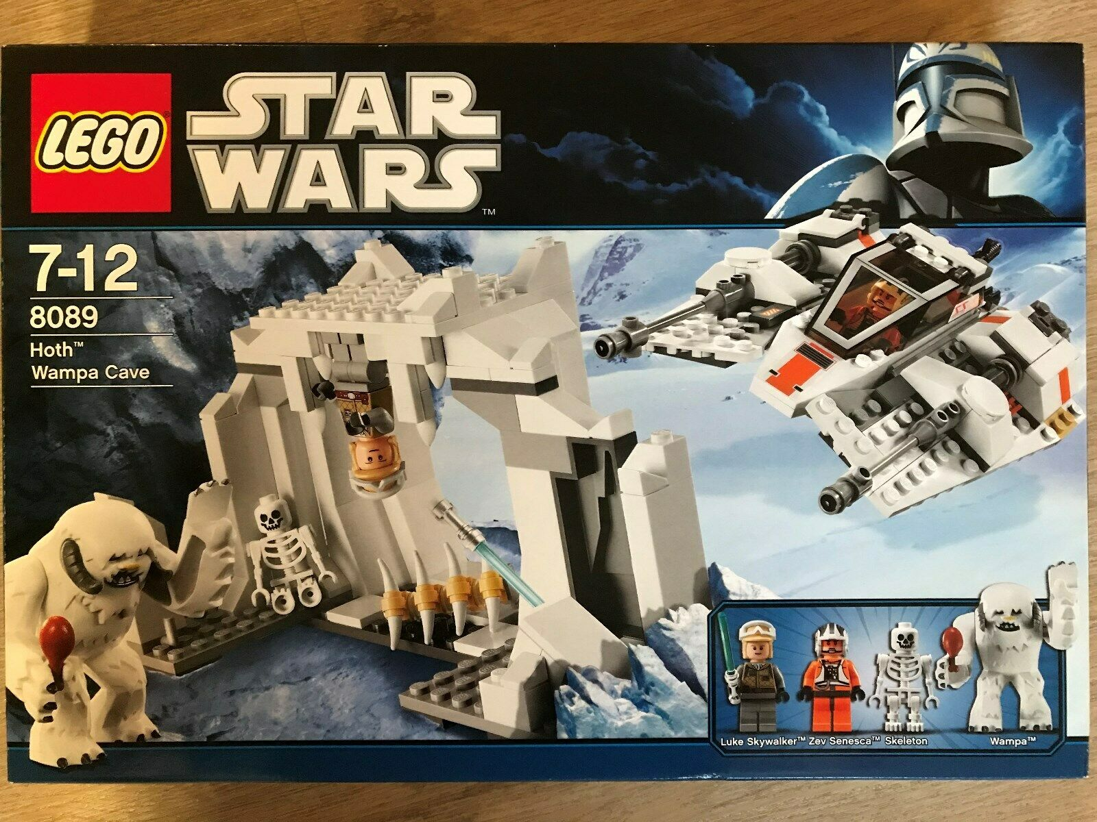 LEGO STAR WARS 8089 - Hoth Wampa Cave - i.O.V. Top Zustand m. Bauanl.