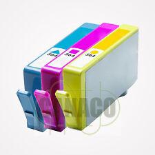 3 CLR 564XL 564 XL Ink Cartridge for HP PhotoSmart D5445 D5460 7510 7560 pritner