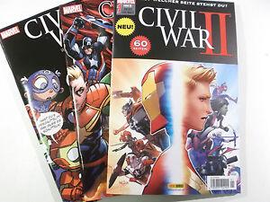 Auswahl-CIVIL-WAR-II-Heft-1-2-3-4-5-6-7-8-9-Variant-Panini-2017-NEUWARE