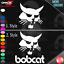Set of 2 Logos You Pick Style SKID STEER LOADER VINYL DECAL STICKER BOBCAT