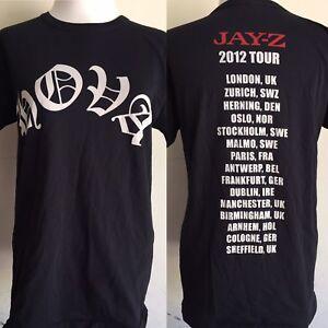 "JAY-Z KANYE WEST (2012) HOVA ""Watch The Throne"" UK Tour ..."