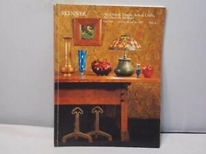 1997 Skinner S Antique Auction Catalog Arts Crafts Art Glass Art Deco Modern Ebay