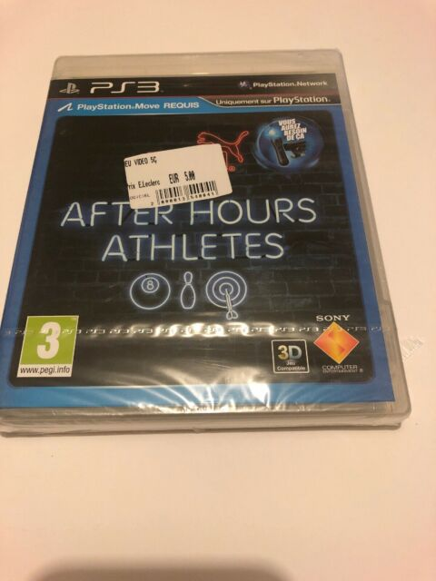 😍 Playstation 3 Neuf Blister officiel Fr ps3 pal after hours athletes jeu move