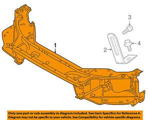 image is loading volvo-oem-07-16-s80-radiator-support-bracket-