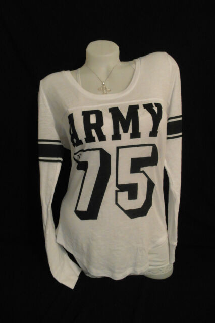 VICTORIA'S SECRET PINK UNITED STATES ARMY LONG SLEEVE SZ. LARGE NWT