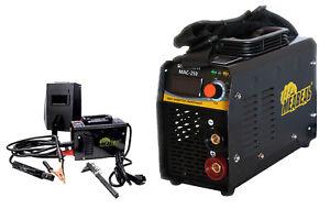 Saldatrice elettrica a elettrodo inverter IGBT saldatura ferro fabbro 250 MAC250