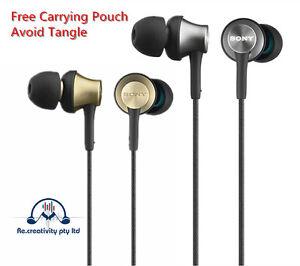 Earphones-Sony-MDR-EX650-In-Ear-Headphone-Bass-Stereo-Brass-Apple-iPhone-Samsung