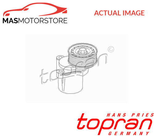302 153 TOPRAN V-RIBBED BELT TENSIONER PULLEY G NEW OE REPLACEMENT