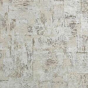 Image Is Loading 113 52sqft Non Woven Wallpaper Plaster Rustic Cork