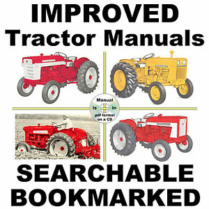 IH-International-Case-600-650-Tractor-REPAIR-SERVICE-SHOP-MANUAL-SEARCHABLE-CD