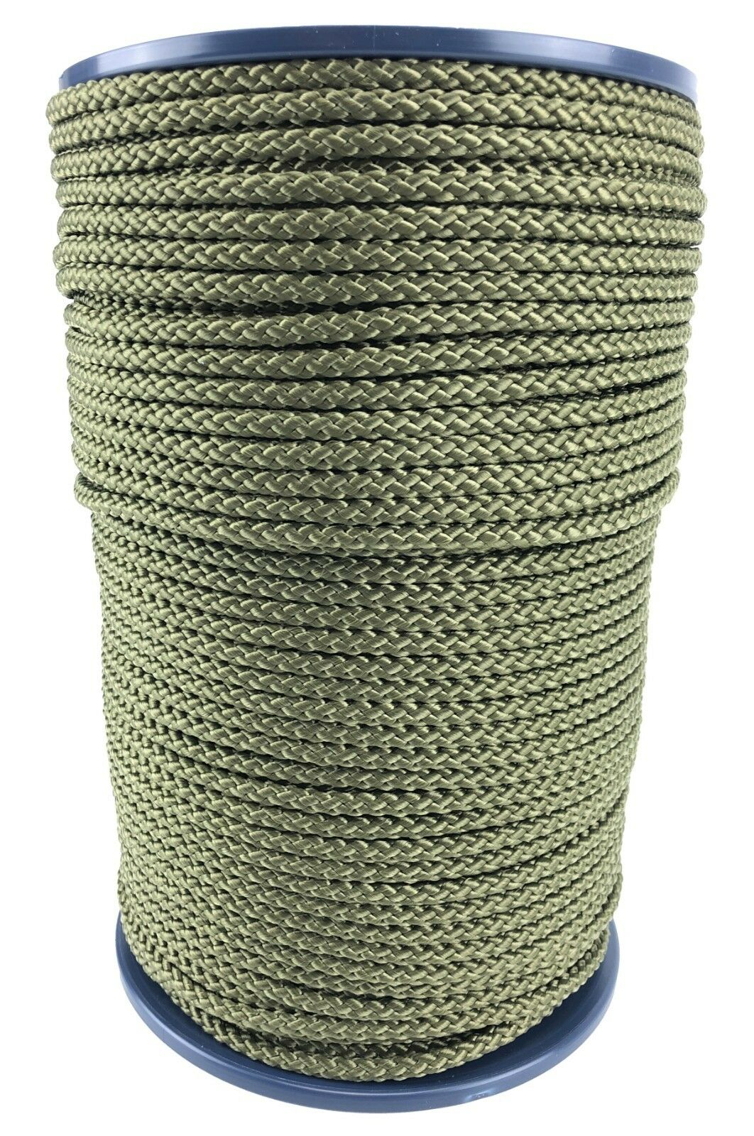 6mm Olive Khaki Braided Polypropylene Poly Rope Cord Paracord Drawstring Sailing