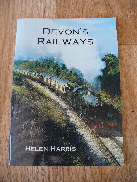 Helen Harris - Devon's Railways (Bossiney Books 2001) VGC