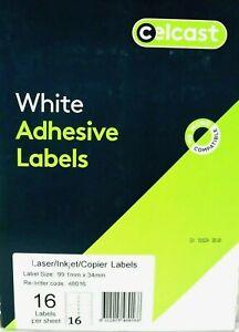White-Adhesive-Labels-Lazer-Inkjet-Copier-99-1mm-x-34mm-Celcast-48016