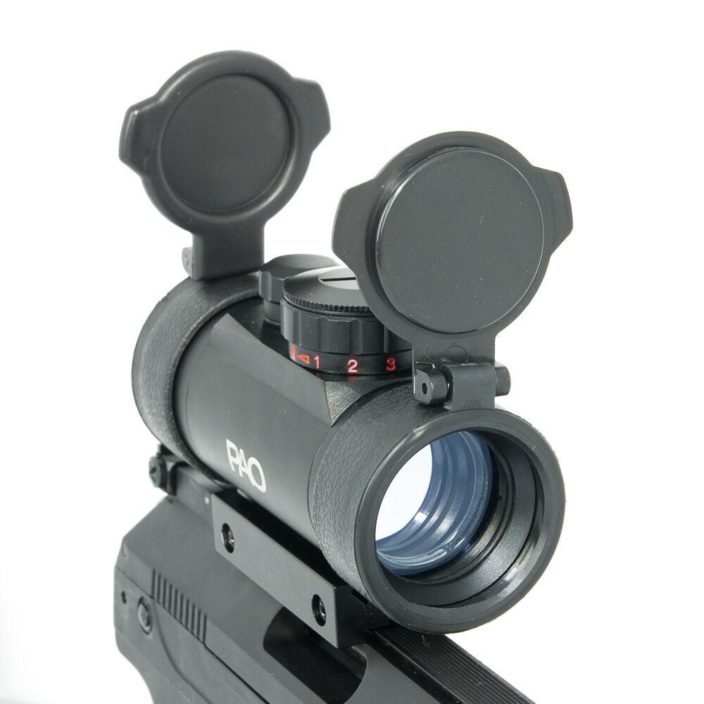 Ra- 1 x 30  Rojo verde Visor de Punto con 11mm 22mm Integrado Soporte Base  Los mejores precios y los estilos más frescos.