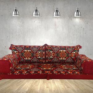 Details zu Majlis floor seating,floor level sofa,patio furniture,floor  cushions / SHI_FS26
