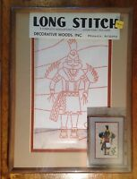 Kachina, Long Stitch Needlepoint Kit, Mat And Frame, Nip