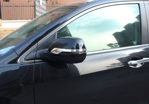 2* ABS Chrome Rearview Strip Side Mirror Cover Trim For Honda CR-V CRV 2012-2016