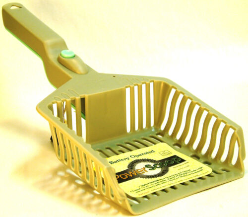 Battery Operated Vibrating Cat Litter Power Scoop