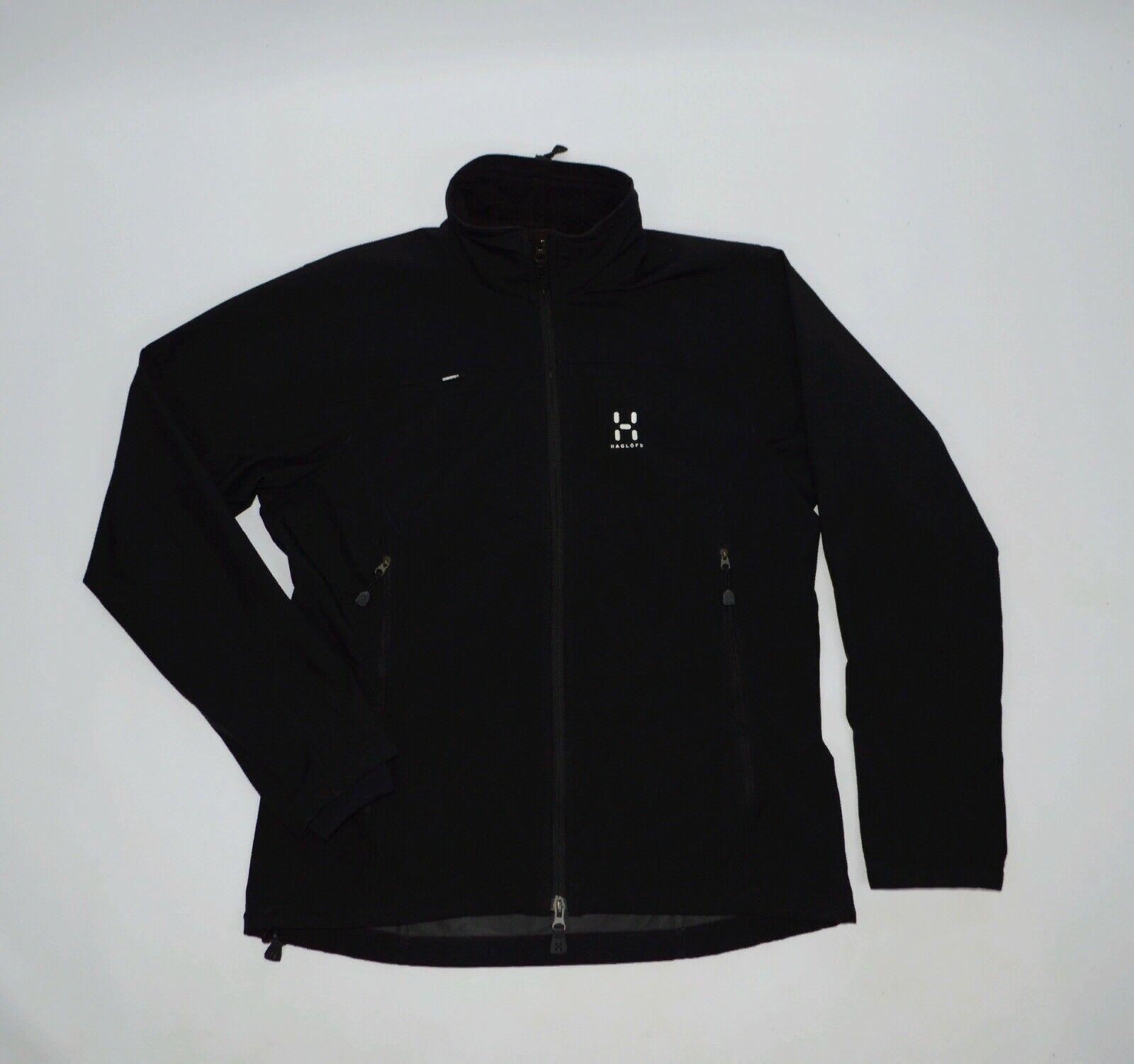Women's Haglofs Black Windstopper Outdoor Jacket Size L