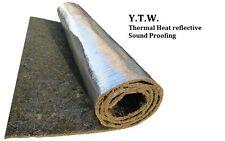 Automotive Thermal Calore Riflettente INSONORIZZAZIONE 100 cm di larghezza x per 5 metri