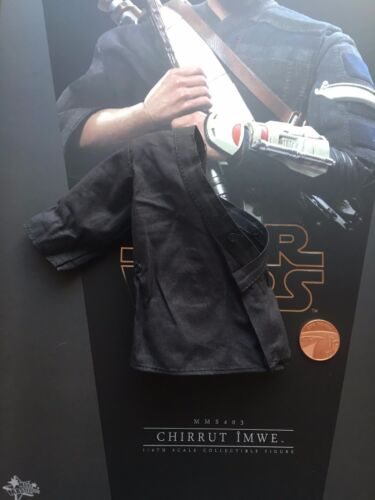 Hot Toys Star Wars Rogue One Chirrut Imwe Blue Over Shirt loose 1//6th scale