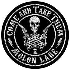 """5"""" Come And Take Them™ Sticker Molon Labe Decal Second 2nd Amendment Gun Three %"""