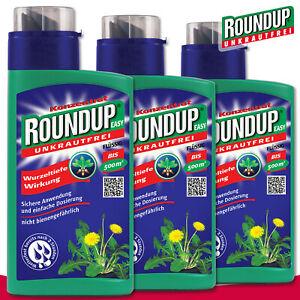 Roundup-Unkrautfrei-3x-500-ml-Easy-Brennnessel-Distel-Berufskraut-Bekaempfung