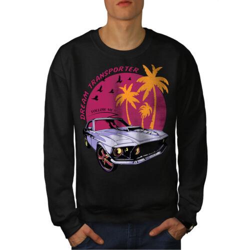 Mustang Car Men Sweatshirt NEWWellcoda
