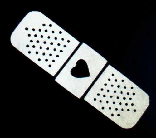 Band-Aid with Heart Sticker Decal Vinyl JDM  Racing Drift Car Truck Window Funny