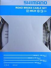 Shimano Bremszug Set PTFE beschichtet schwarz Rennrad