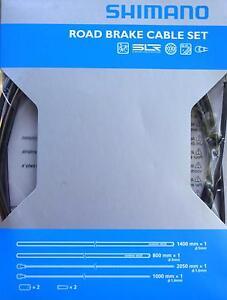 Shimano-Bremszug-Set-PTFE-beschichtet-schwarz-Rennrad