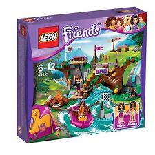 Lego Friends 41121 Abenteuercamp Rafting mit 2 Legofiguren Bär Zelt Boot NEU LEGO Bau- & Konstruktionsspielzeug