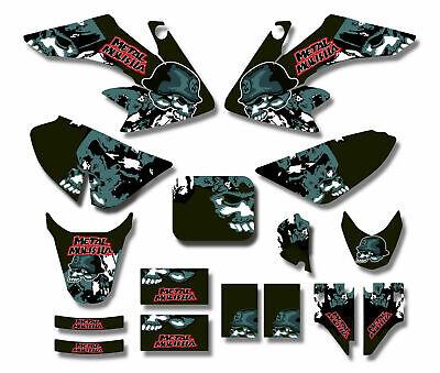3M METAL MULISHA Decal Graphics Sticker Kit CRF50 Fairing 110cc 125cc PIT Bike 880927097181 | eBay