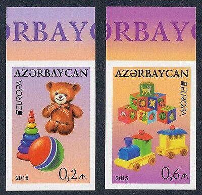 Aserbaidschan Ungezähnt, Azerbaijan Imperforated, Europa Cept 2015, Kmpl.satz **