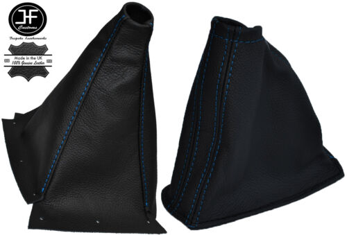 Blue stitch fits nissan skyline R33 gts gtr gtst 1993-1998 guêtres en cuir