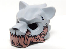 LEGO - Minifig, Headgear Mask Tiger w/ Copper Fangs & Armor with Rivets Pattern